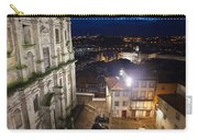 Porto By Night In Portugal Carry-all Pouch