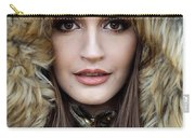 Portrait Of A Beautiful Woman Carry-all Pouch
