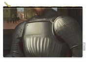 Portrait Of A Man In Armour Carry-all Pouch