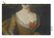 Portrait Of Eva Friederike Charlotte Carry-all Pouch