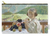 Portrait Of Irina Kustodieva Carry-all Pouch