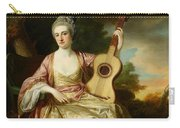 Portrait Of Maria Walpole Carry-all Pouch