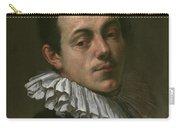 Portrait Of Painter Josef Heintz Carry-all Pouch