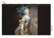 Portrait Une Danseuse Au Tambourin Lisabeth Louise Vige Le Brun Carry-all Pouch