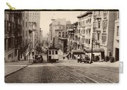 Powell Street Hill - San Francisco 1945 Carry-all Pouch