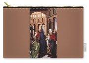 Presentation Of Christ Wga Rogier Van Der Weyden Carry-all Pouch