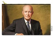 President Dwight Eisenhower Painting Carry-all Pouch