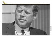 President John Kennedy Carry-all Pouch