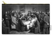 President Lincoln's Deathbed Carry-all Pouch
