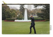 President Obama - White House South Lawn #1 Carry-all Pouch