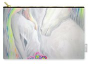 Princess And Unicorn Carry-all Pouch