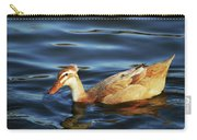 Puffy Headed Duck Carry-all Pouch