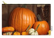 Pumpkins And Gourds Still Life Carry-all Pouch