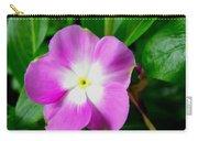 Purple Periwinkle Flower 1 Carry-all Pouch