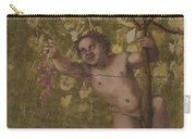 Putto Gathering Grapes Carry-all Pouch