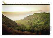 Puu O Kila Lookout, Kauai, Hi Carry-all Pouch by T Brian Jones
