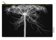 Queen Annes Lace, X-ray Carry-all Pouch