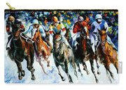 Race On The Snow Carry-all Pouch