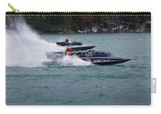 Racing Hydroplanes Boats On The Detroit River For Gold Cup Carry-all Pouch