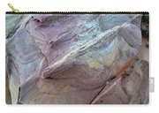 Rainbow Colored Sandstone In Valley Of Fire Carry-all Pouch