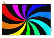 Rainbow Spectral Swirl Carry-all Pouch