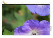Raindrops On Purple Carry-all Pouch