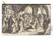 Raising Of Lazarus Carry-all Pouch