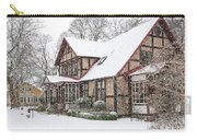 Ramlosa Brunnspark House In Winter Carry-all Pouch