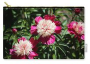 Red And Pink Peony Carry-all Pouch