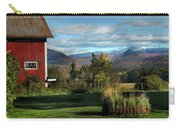 Red Barn In Newbury Vermont Carry-all Pouch