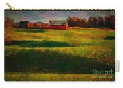 Rolling Hills And Red Barn, Rock Island, Tennessee Carry-all Pouch