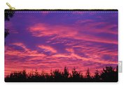 Red Clouds At Dawn Carry-all Pouch