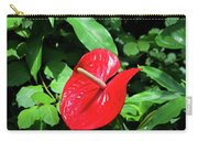 Red Flamingo Flower II Carry-all Pouch