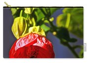 Scarlet Mallow At Pilgrim Place In Claremont-california- Carry-all Pouch