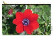 Red Anemone Coronaria 1 Carry-all Pouch