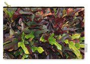 Red Green  Leaves Carry-all Pouch
