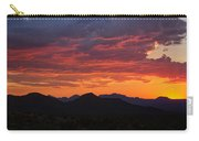 Red Hot Desert Skies  Carry-all Pouch