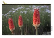 Red Hot Pokers Carry-all Pouch