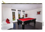 Red Pool Table Carry-all Pouch