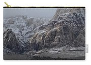 Red Rock Canyon Snow Storm Carry-all Pouch