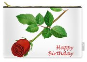 Red Rose Happy Birthday  Carry-all Pouch