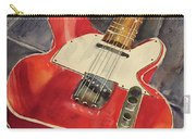 Red Telecaster Carry-all Pouch