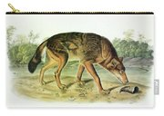 Red Texan Wolf Carry-all Pouch