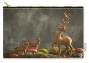 Reindeer Scene Carry-all Pouch