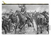 Remington: Cowboys, 1888 Carry-all Pouch