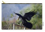 Resident Raven Carry-all Pouch