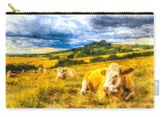 Resting Cows Art Carry-all Pouch
