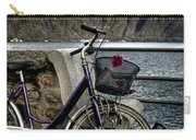 Retro Bike Carry-all Pouch by Joana Kruse