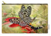 Rice Paper Butterflies Carry-all Pouch