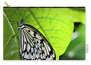 Rice Paper Butterfly 6 Carry-all Pouch